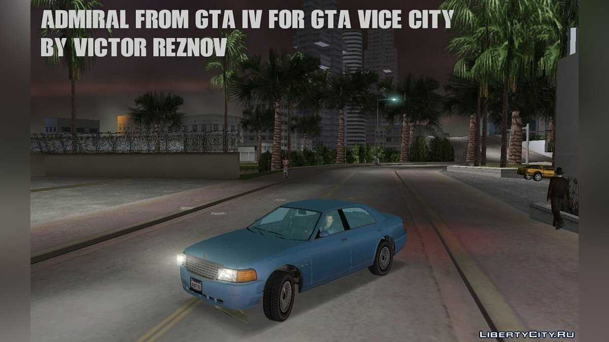 Admiral from GTA IV for GTA Vice City для GTA Vice City