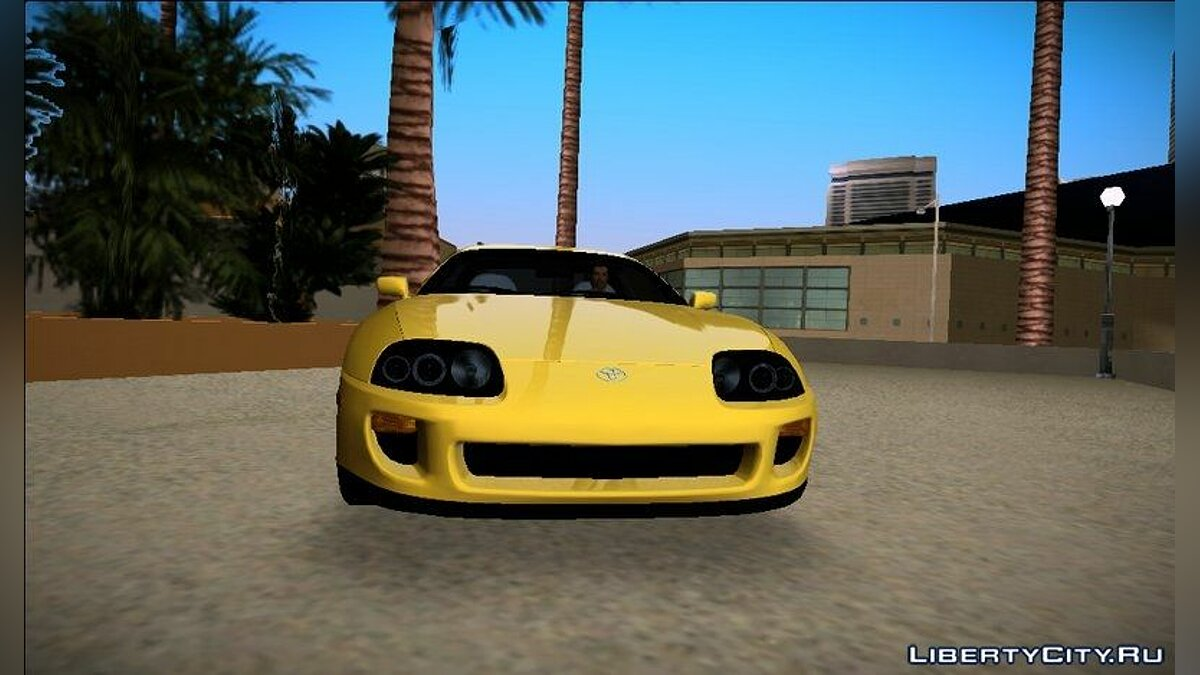 Toyota Supra US-Spec (JZA80) 1993 для GTA Vice City - скриншот #2