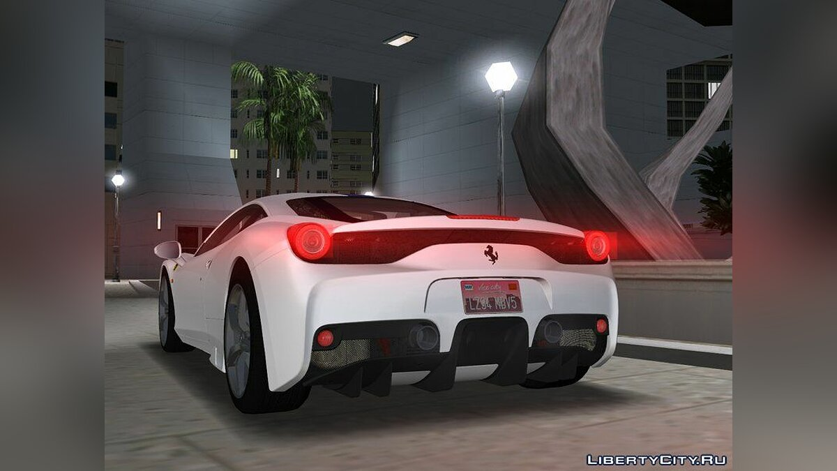 2015 Ferrari 458 Speciale v1.1 для GTA Vice City - Картинка #2