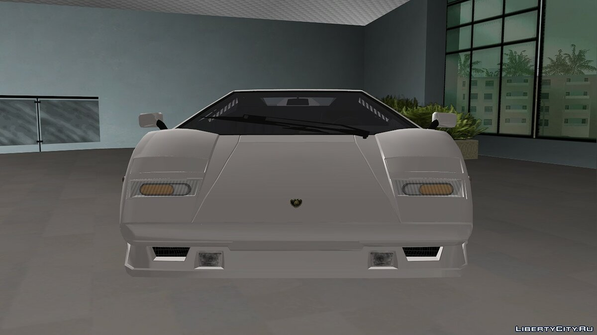 Lamborghini Countach 1988 25th Anniversary для GTA Vice City - Картинка #8