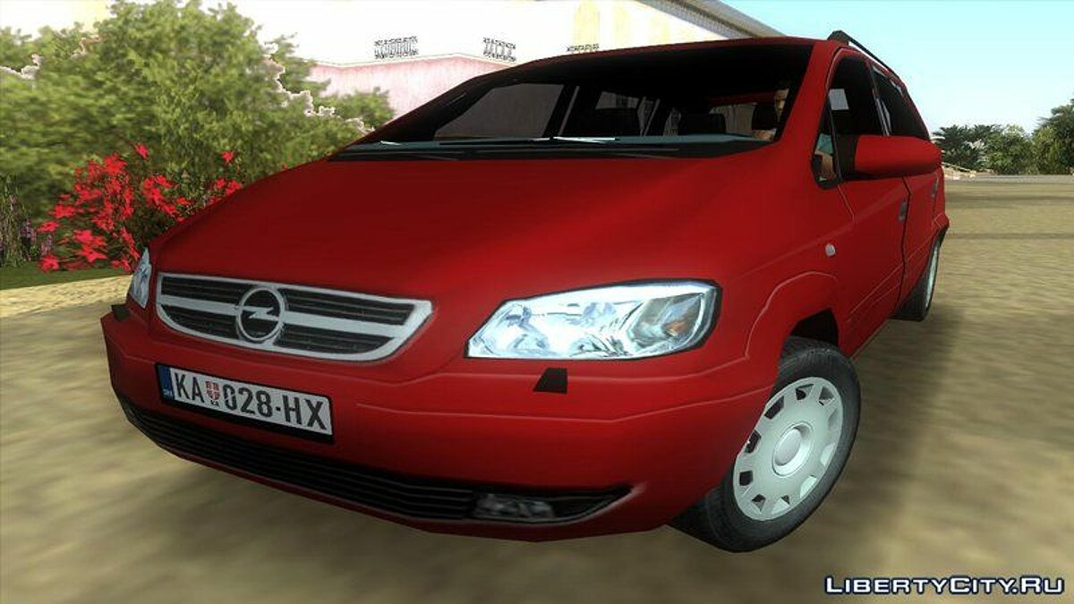 Opel Zafira 2.2DTI для GTA Vice City - Картинка #1