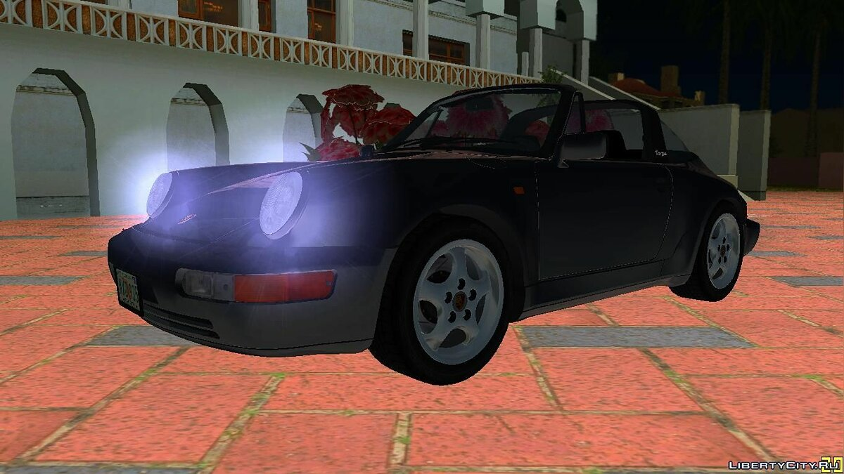 Porsche 911 (964) Carrera 4 Targa 1989 для GTA Vice City - Картинка #9