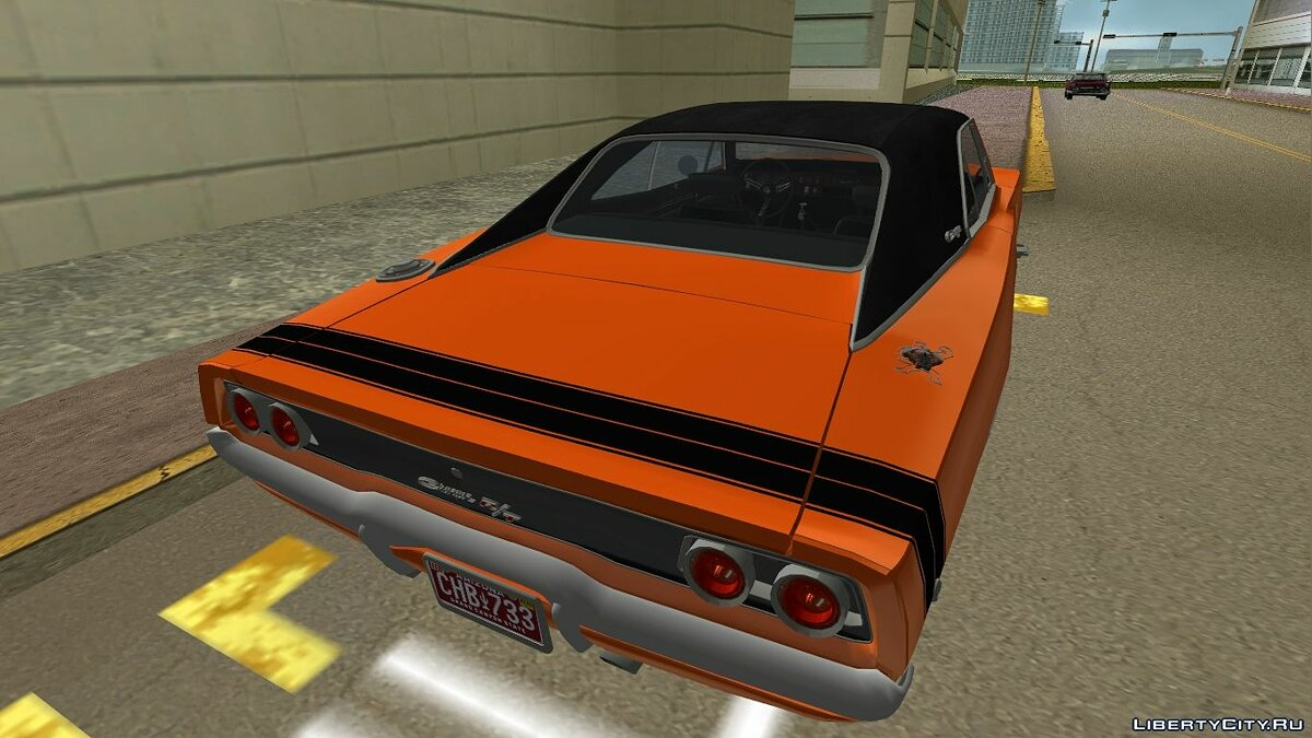 Dodge Charger '1968 R/T 426 для GTA Vice City - Картинка #2