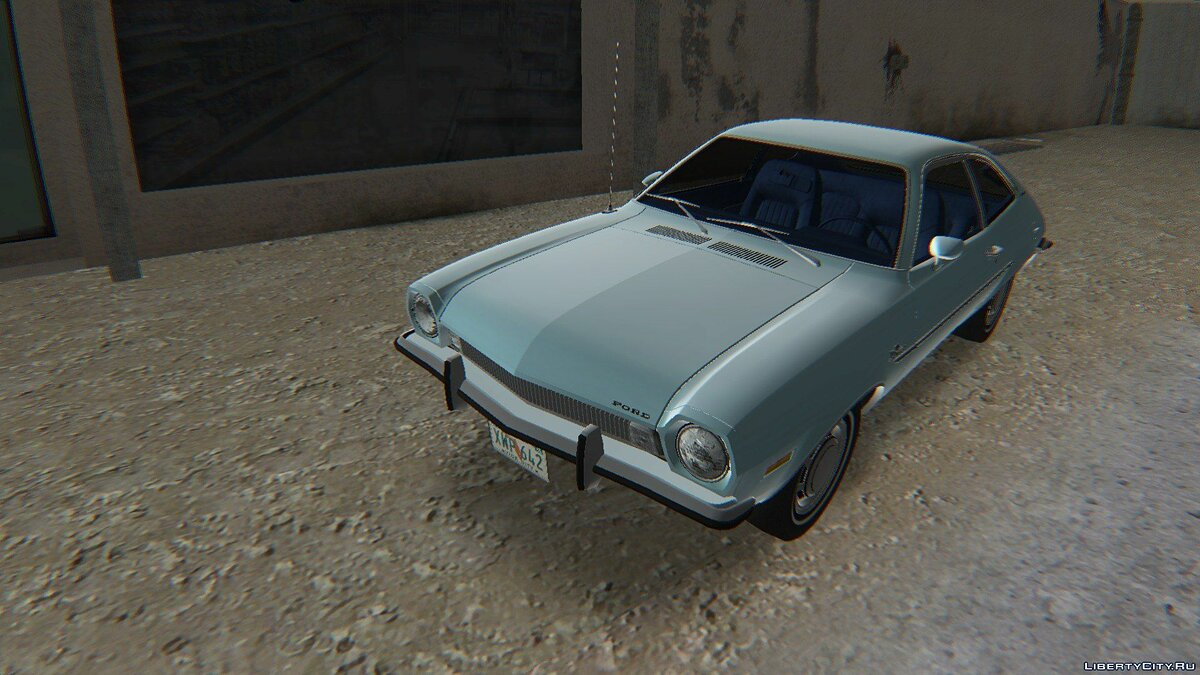 Ford Pinto Runabout 1973 для GTA Vice City - Картинка #5