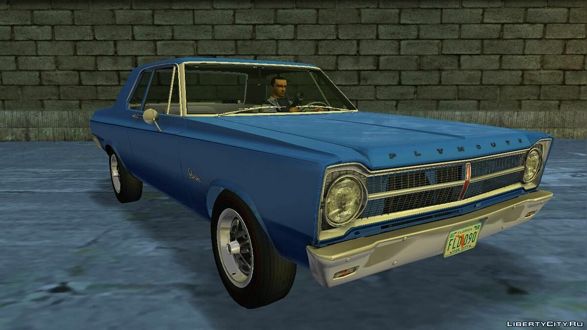 Plymouth Belvedere I 2-door Sedan 1965 for VC для GTA Vice City