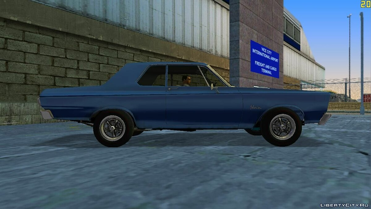 Plymouth Belvedere I 2-door Sedan 1965 for VC для GTA Vice City - скриншот #4
