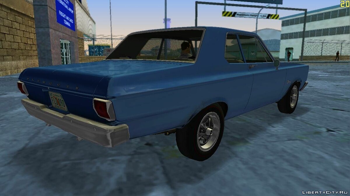 Plymouth Belvedere I 2-door Sedan 1965 for VC для GTA Vice City - скриншот #3