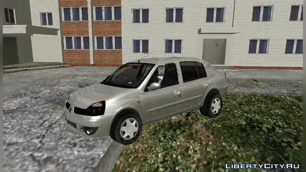 Renault Symbol 2006 для GTA Vice City