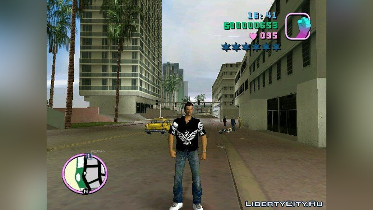 Black Skin [Vice City] для GTA Vice City