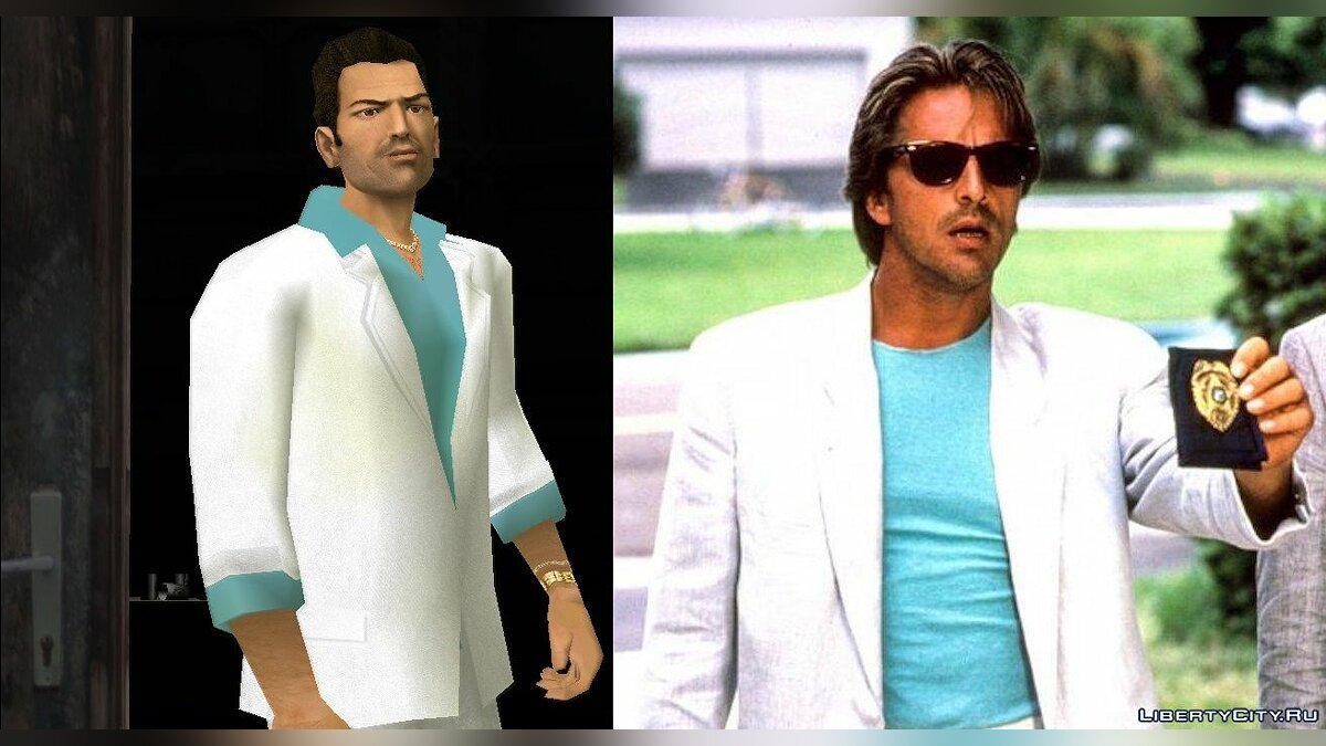 VCS Style Suits для GTA Vice City - Картинка #4