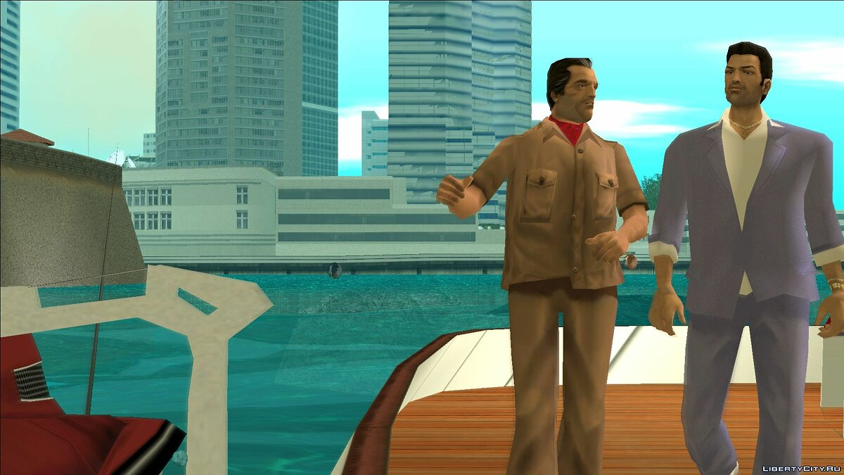 VCS Style Suits для GTA Vice City - Картинка #8