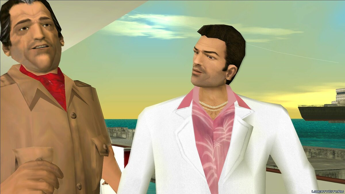 VCS Style Suits для GTA Vice City - Картинка #11