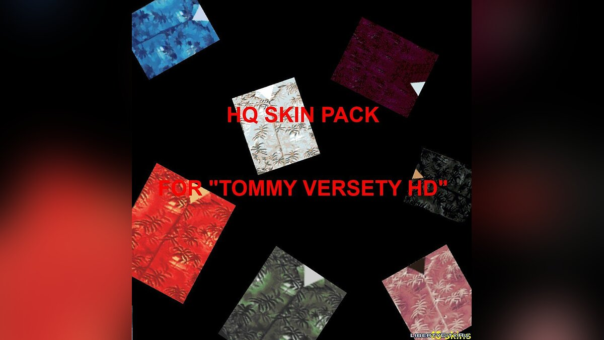 "HQ skin pack for ""HD Tommy"" для GTA Vice City"