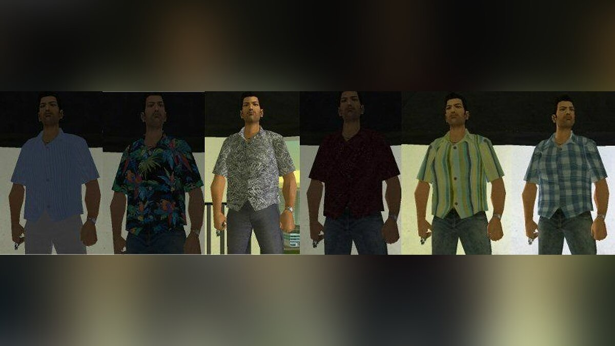 Tommy HD Skins для GTA Vice City