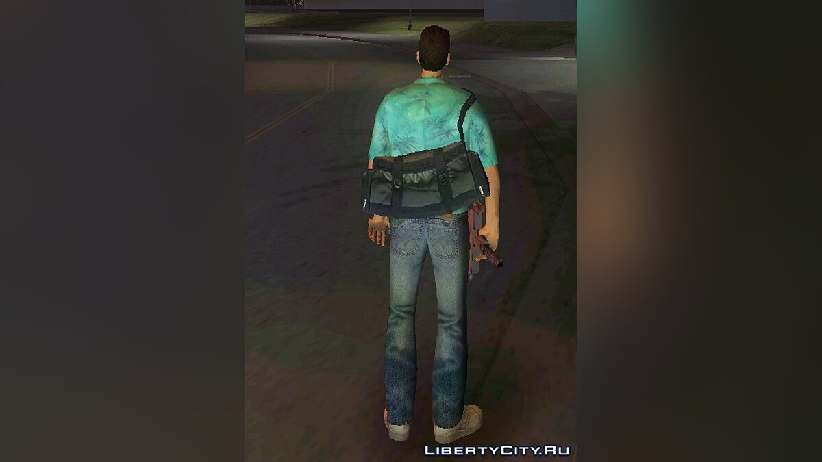 Tommy HD with bag from GTA 4 для GTA Vice City