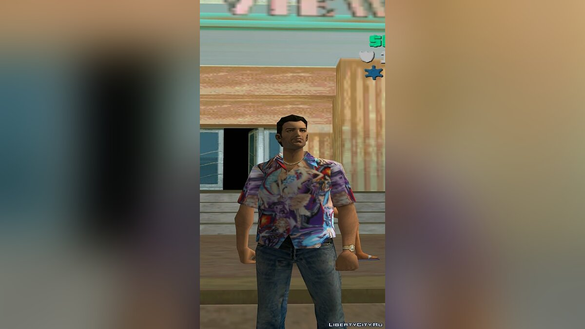 Одежда Рубашка Мэтта Тэйлора для GTA Vice City