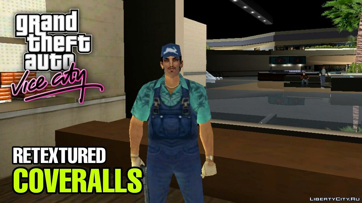 Одежда Tommy Retextured (Claude-Style) for PC/Android для GTA Vice City