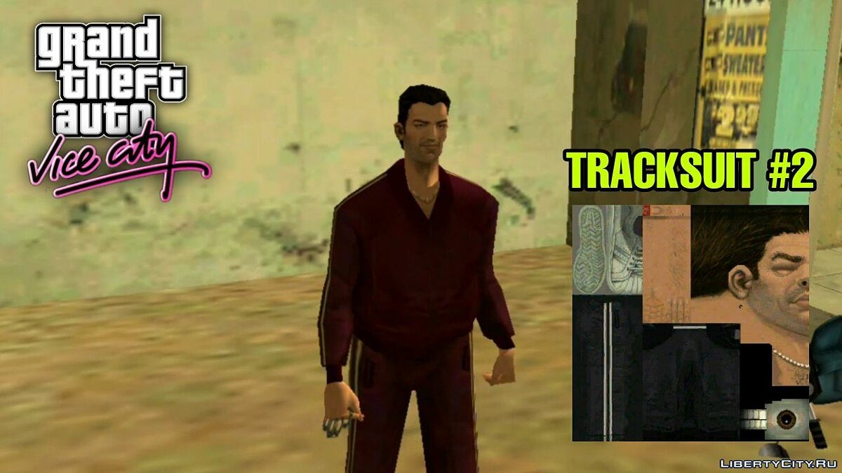 Одежда Tommy's Cutscenes Outfits for PC/Android для GTA Vice City