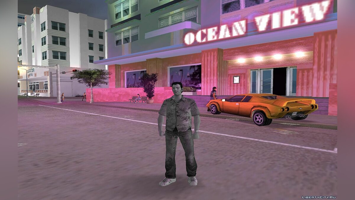 Black and White Tommy для GTA Vice City - Картинка #2