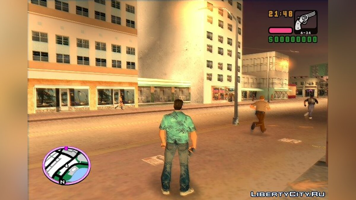 Stories HUD HD 2.0 для GTA Vice City