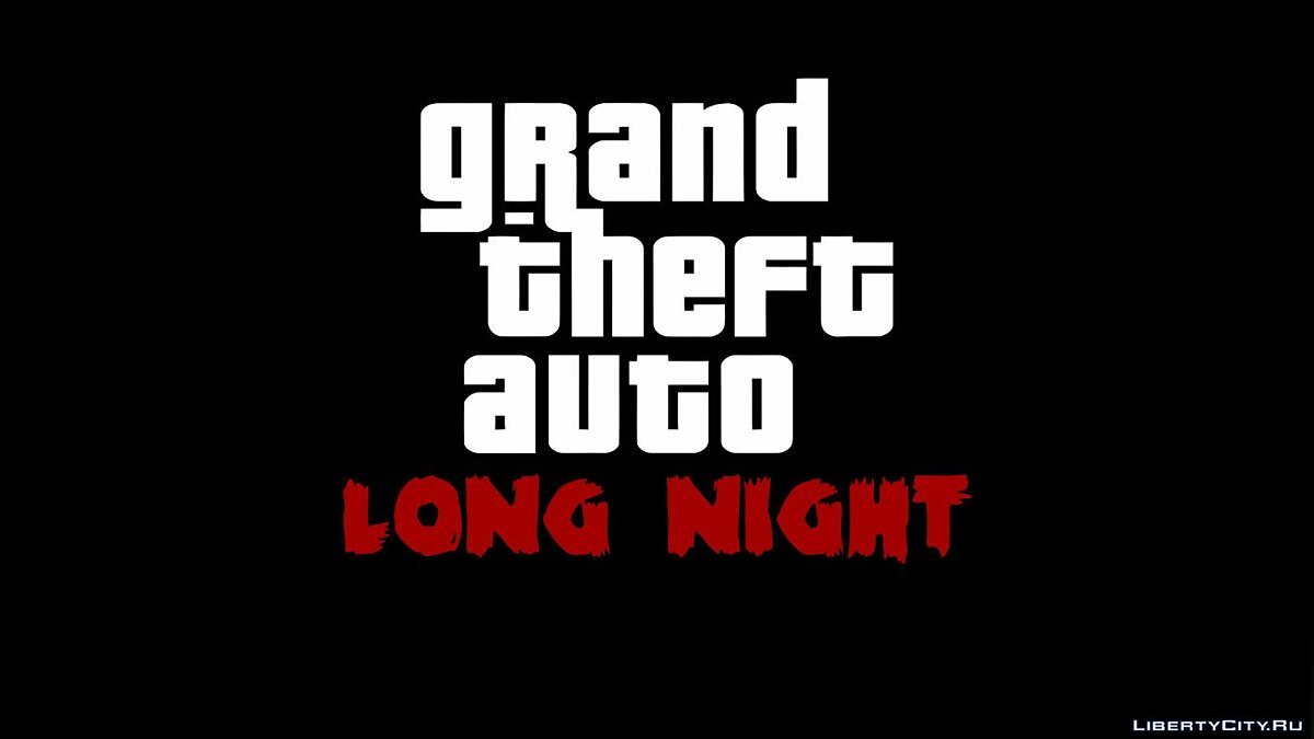 Файл GTA Long Night HD Loadscreens для GTA Vice City