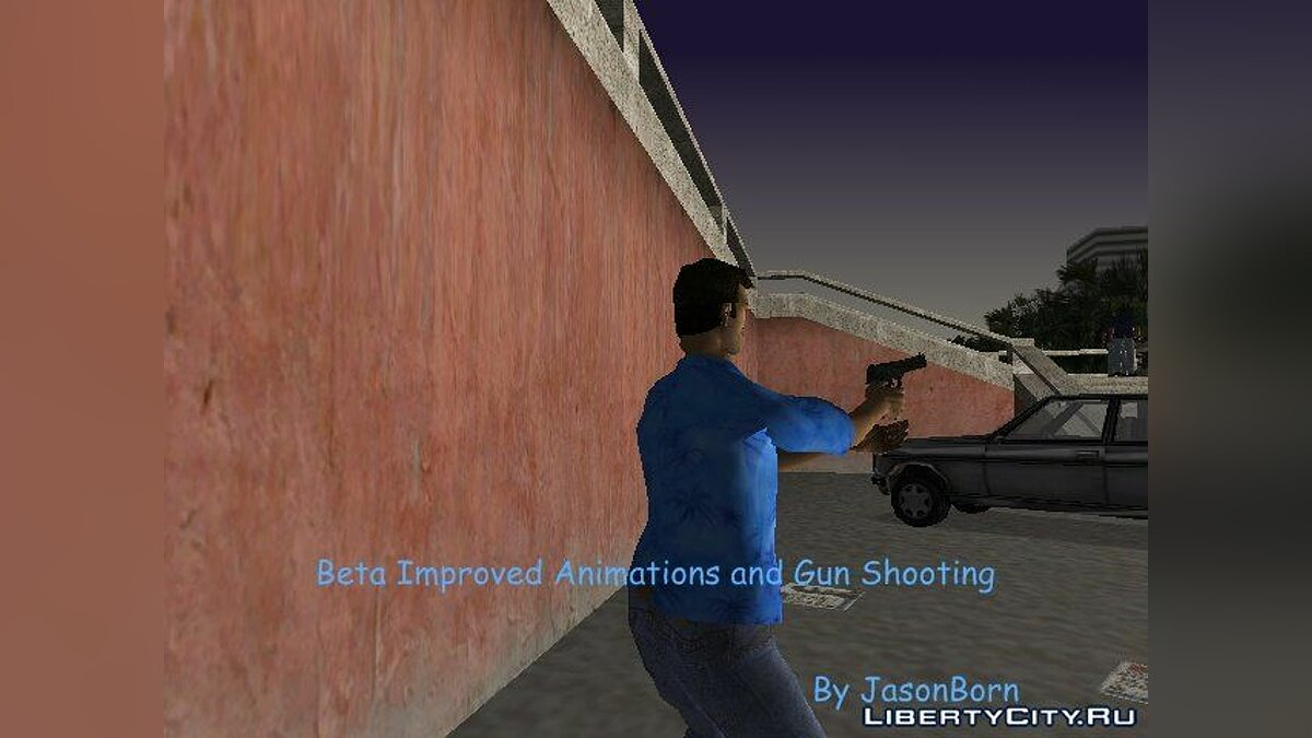 Beta Improved Animations and Gun Shooting для GTA VC для GTA Vice City - скриншот #2