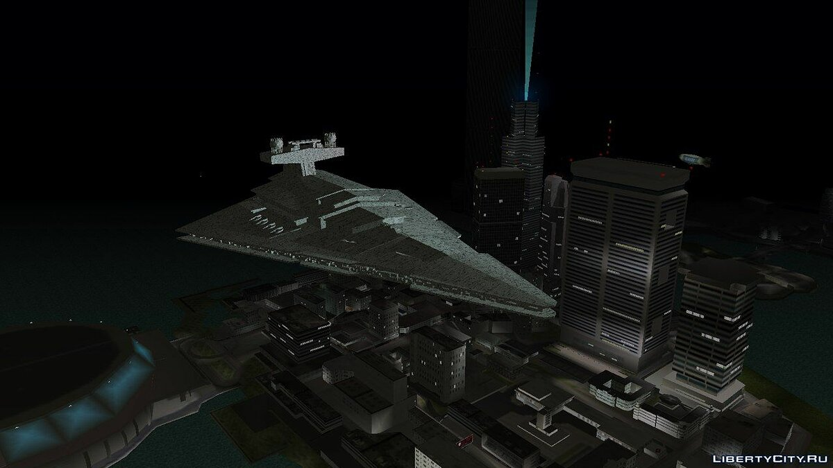 Новый остров Star Destroyer для GTA Vice City