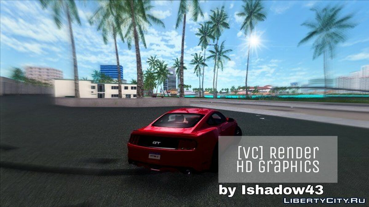 ENB мод Render HD Graphics 2.0 для GTA Vice City