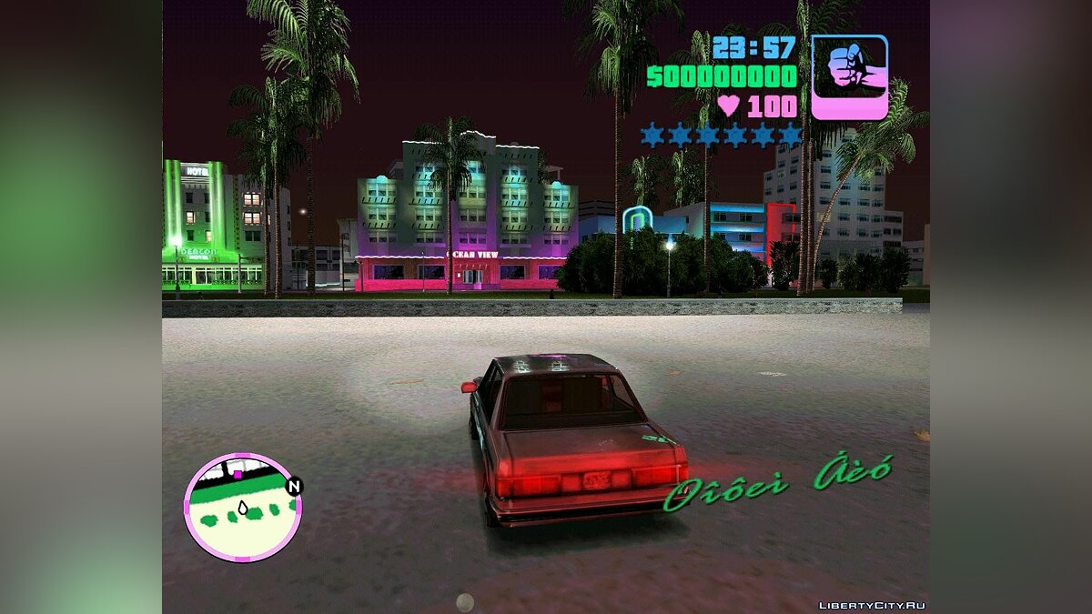 ENB мод ENB for Vice City v 2 для GTA Vice City