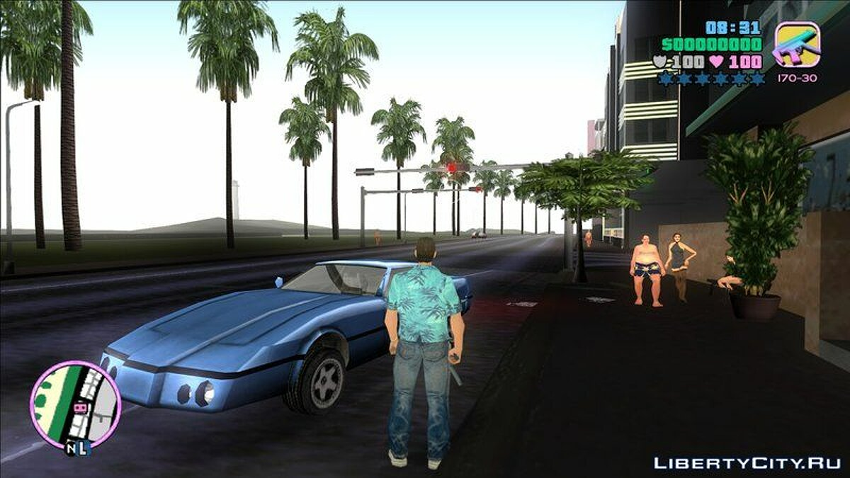 ENB мод VC Rendering HD Graphics X 2 1 для GTA Vice City