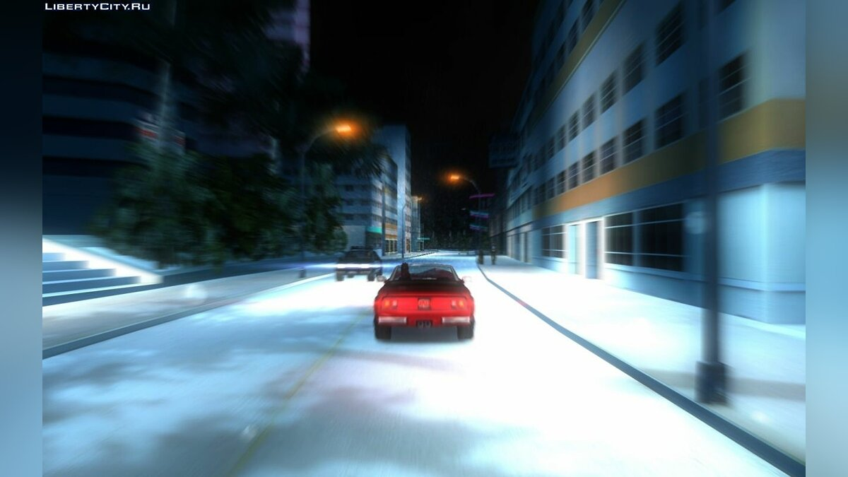 Winter Mod 2.2 для GTA Vice City