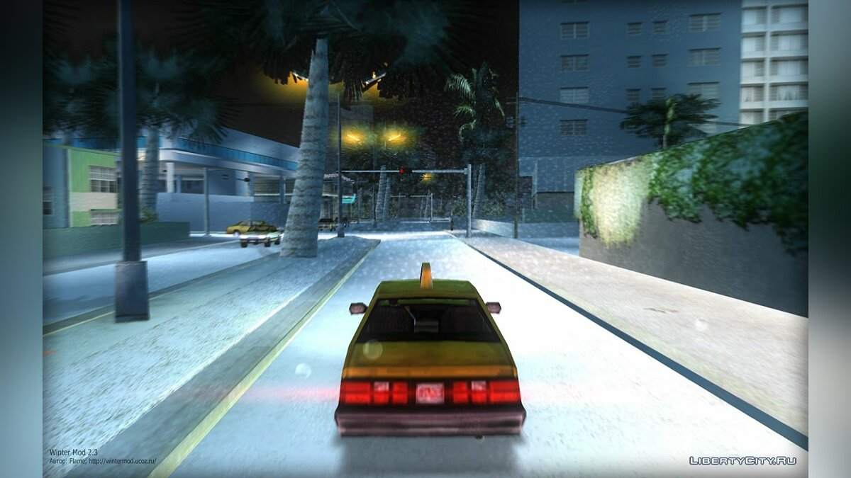 Winter Mod 2.3 для GTA Vice City