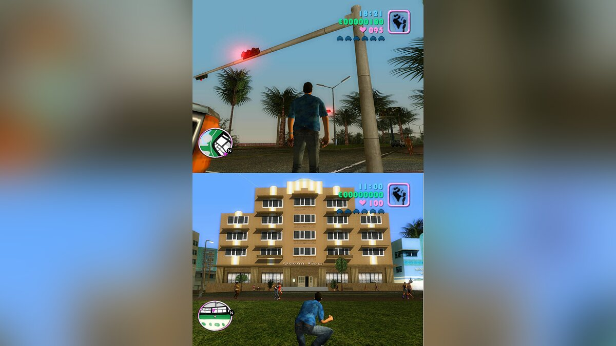 Hardcore Graphic for Vice City beta 0.4 для GTA Vice City