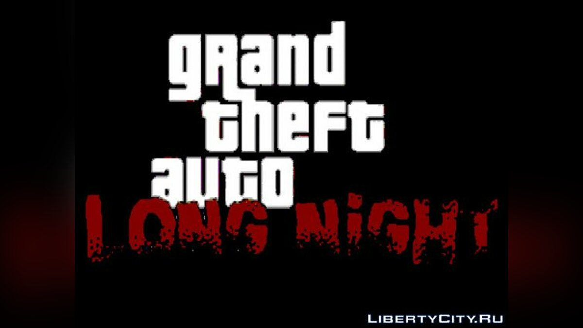 GTA Long Night для GTA Vice City