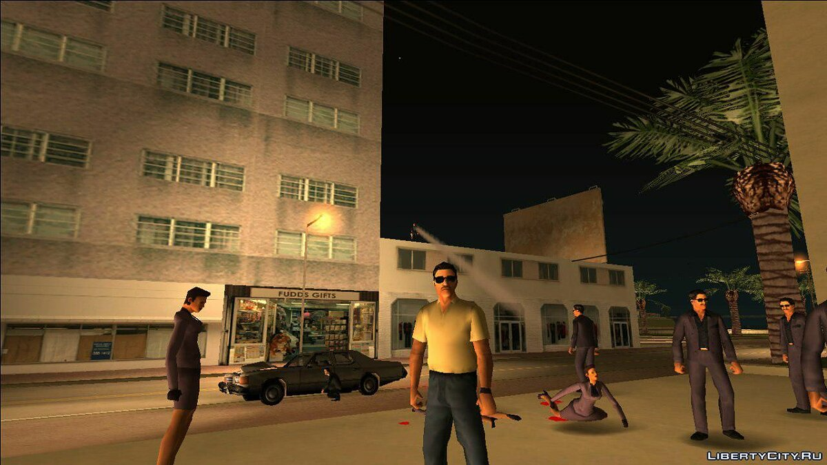 Большой мод Shine o' Vice (Demo) для GTA Vice City