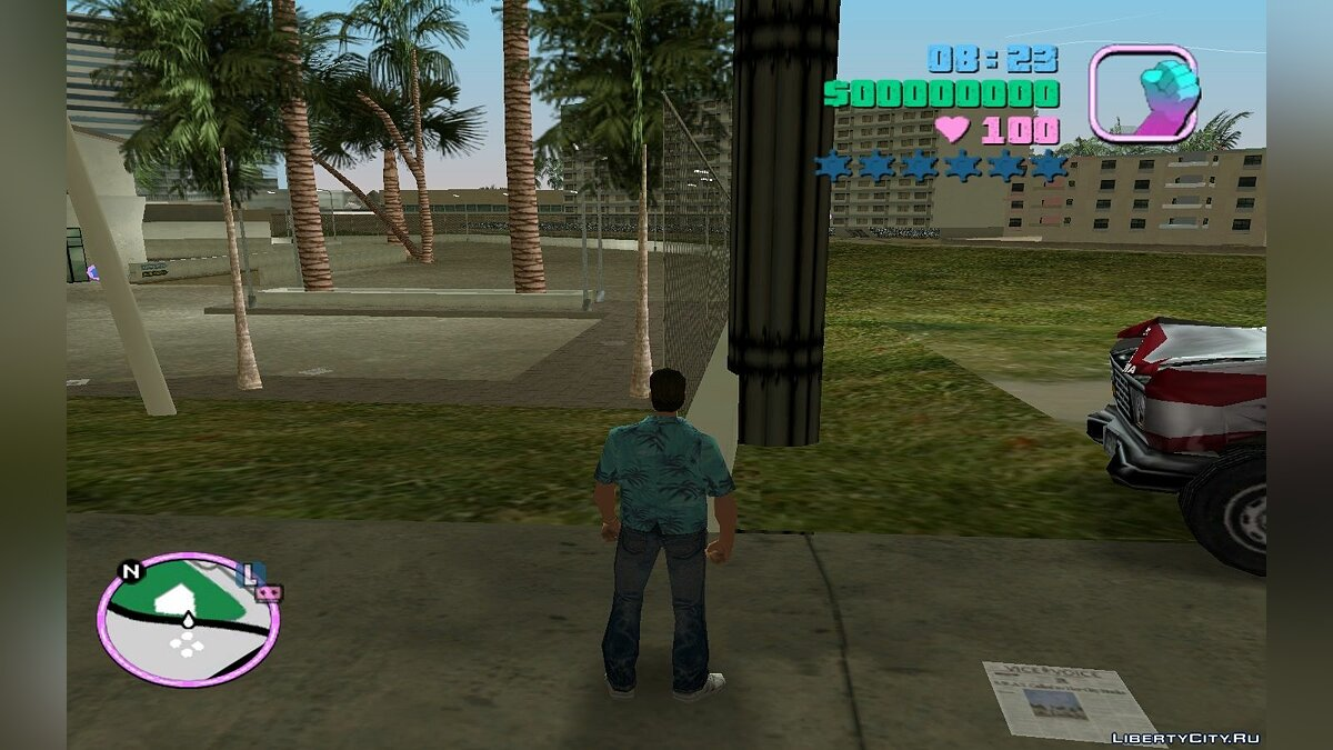 ��ольшой мод GTA Vice City Patch by Cherbet v2 для GTA Vice City