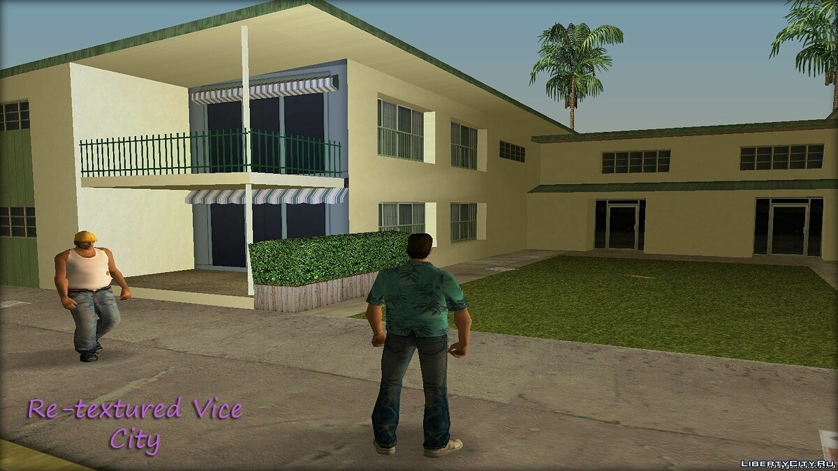 Re-textured Vice City v0.5 для GTA Vice City - скриншот #5