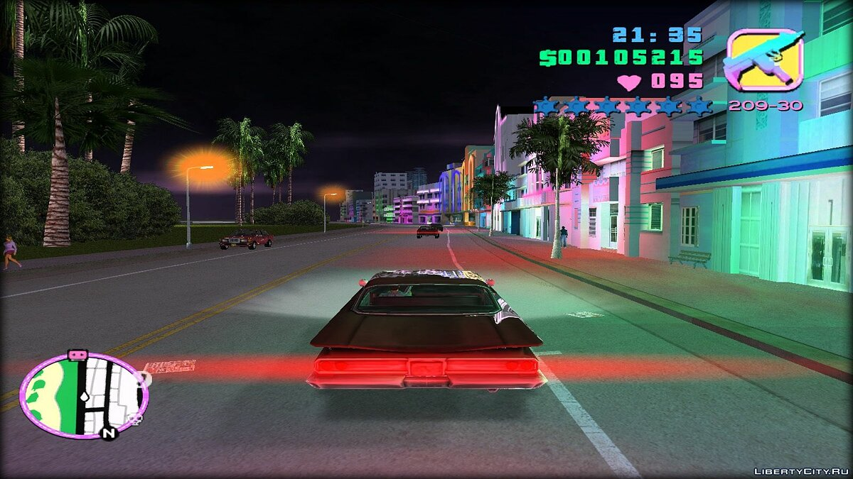 Большой мод Re-textured Vice City v0.5.5 для GTA Vice City