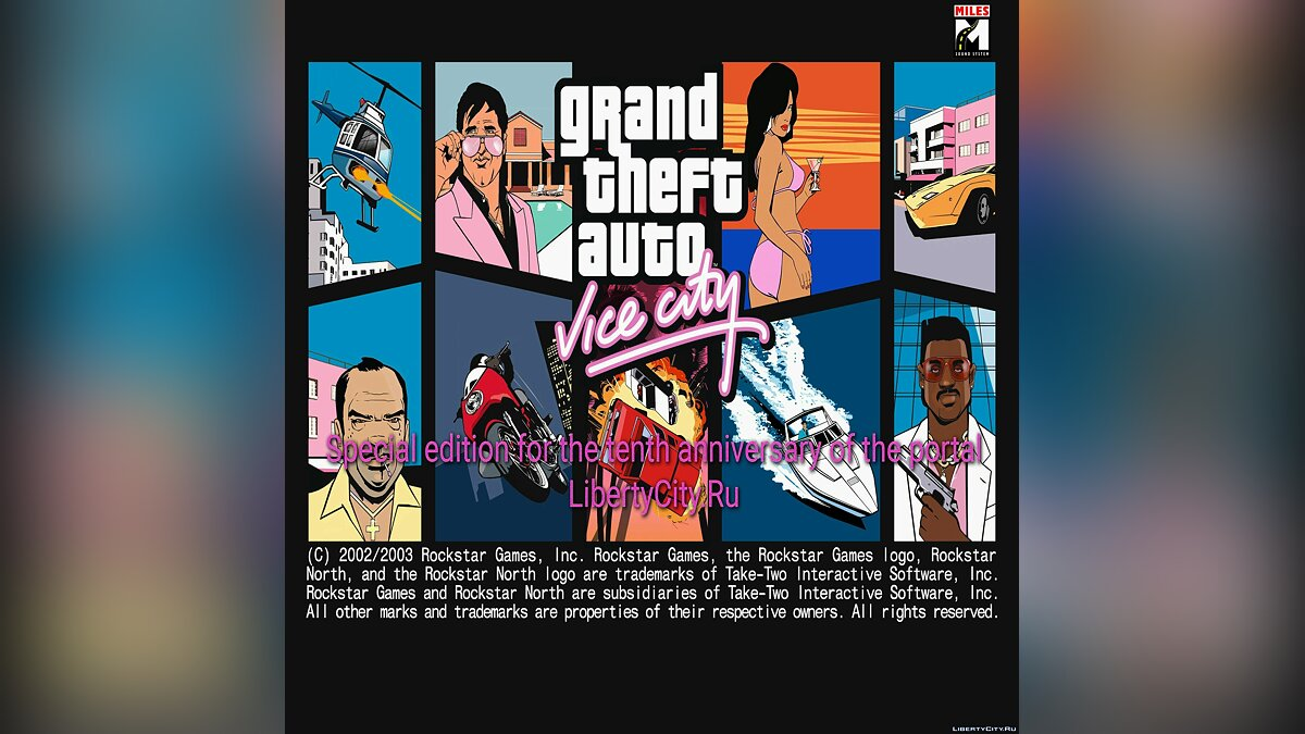 Большой мод VC RE [Для конкурса] для GTA Vice City