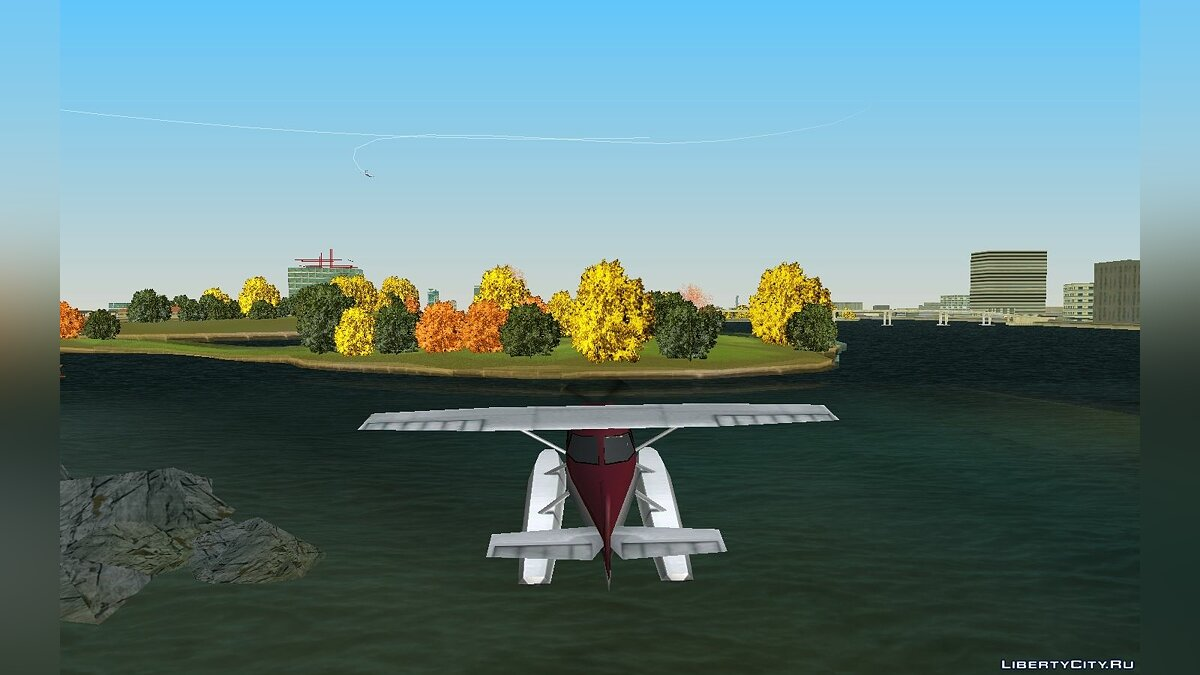 ��ольшой мод Real Autumn v.1.1 для GTA Vice City