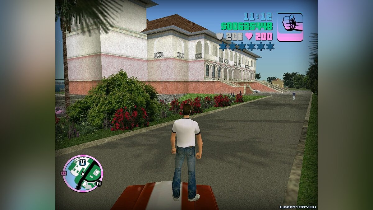 Re-textured Vice City v0.2 для GTA Vice City