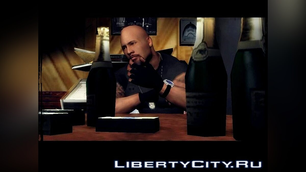 "Dwayne Johnson from ""Fast 5"" для GTA Vice City"