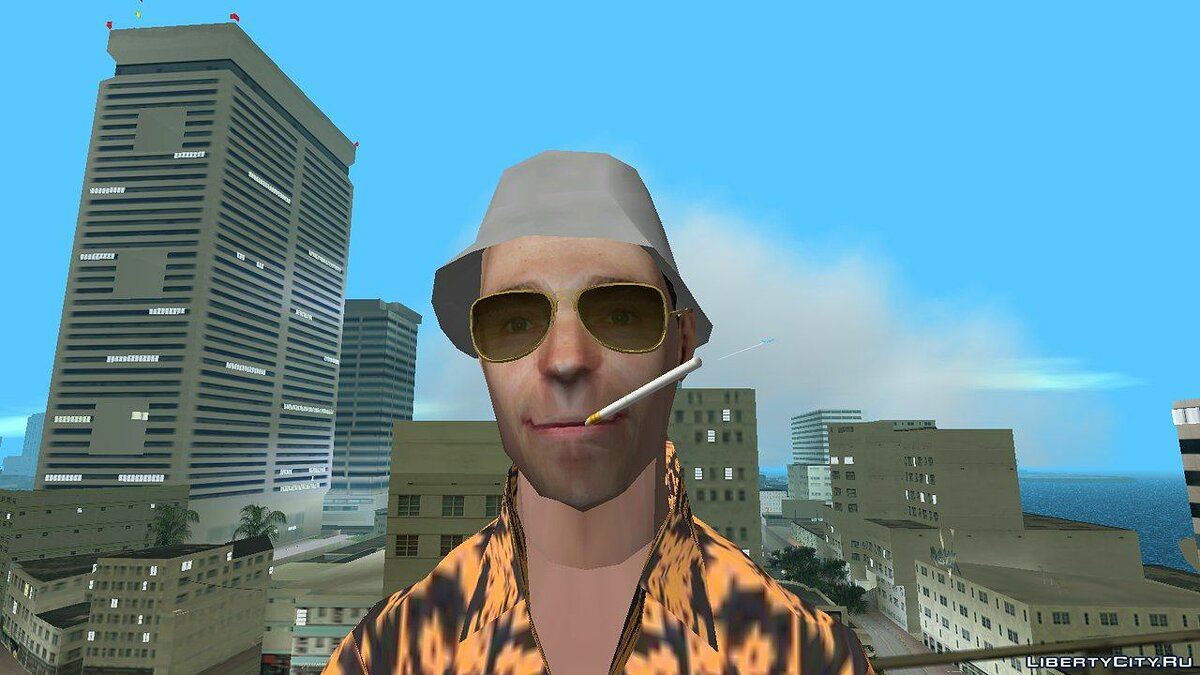 Новый персонаж Sergey Bezrukov Fear and Loathing Style для GTA Vice City