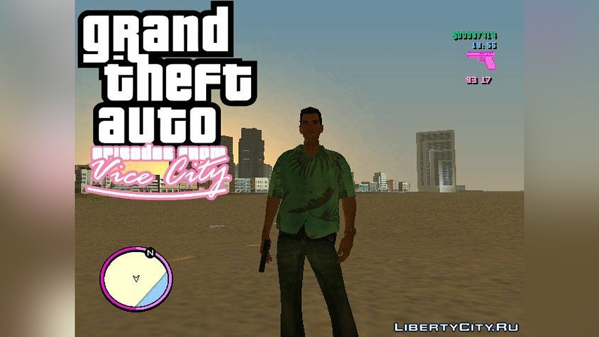 Johnny Vercetti для GTA Vice City для GTA Vice City - Картинка #1
