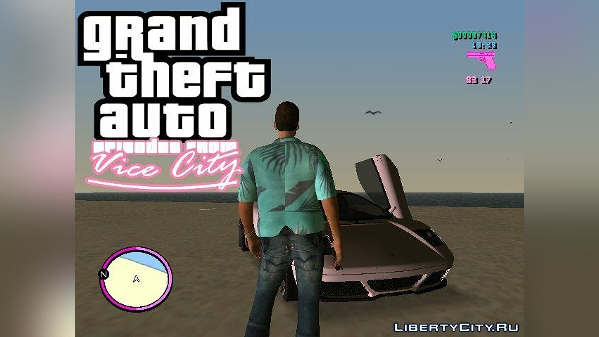 Johnny Vercetti для GTA Vice City для GTA Vice City - скриншот #3