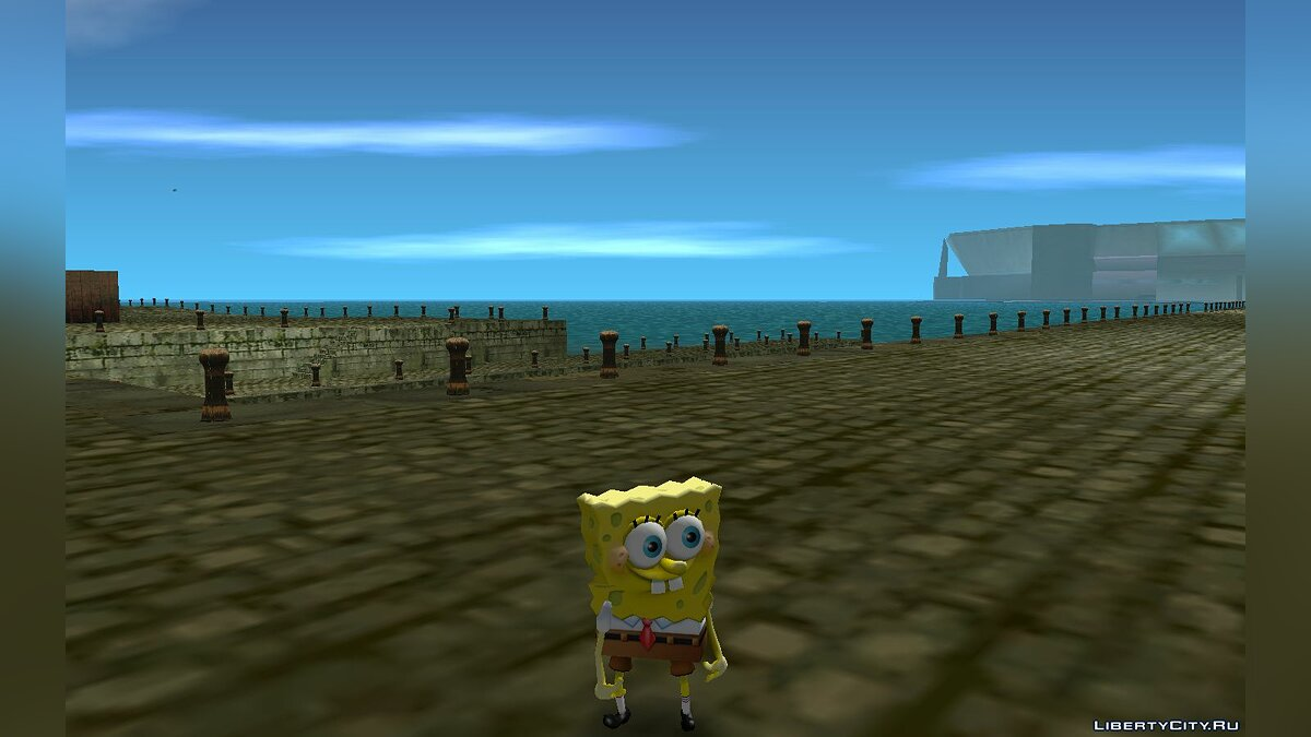 ��овый персонаж Sponge Bob from Nick Racers Revolution для GTA Vice City