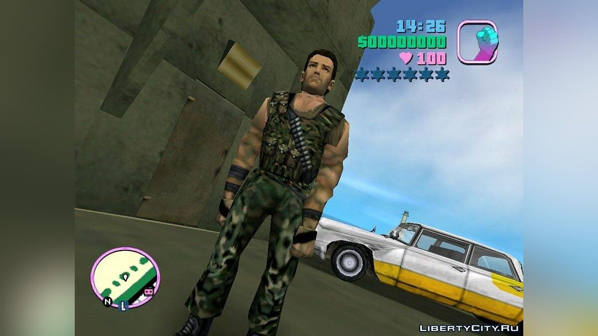 Tommy - Soldier Outfit 1 для GTA Vice City - скриншот #2
