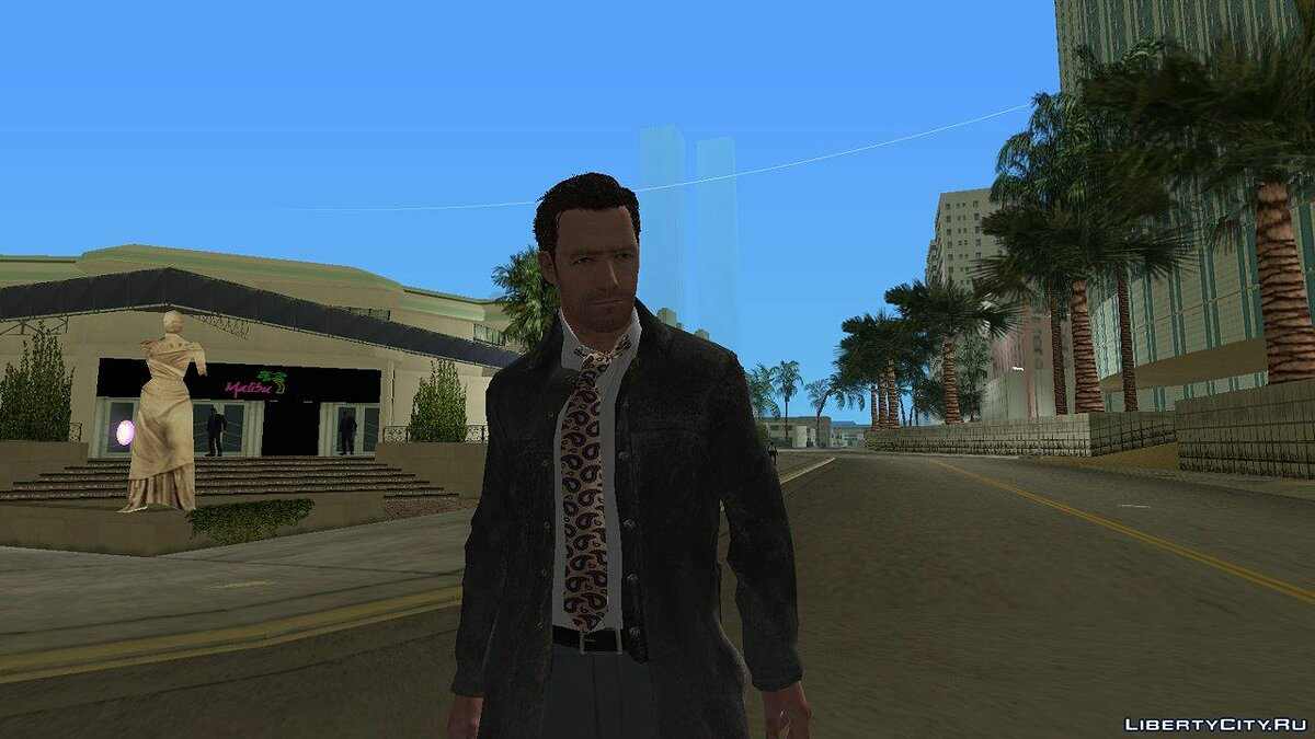 Макс Пейн из Max Payne 3 v2 для GTA Vice City