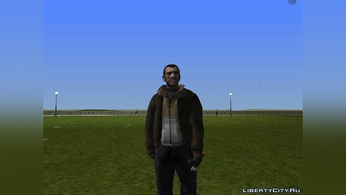 Niko Bellic (HD) Chek It для GTA Vice City - Картинка #2