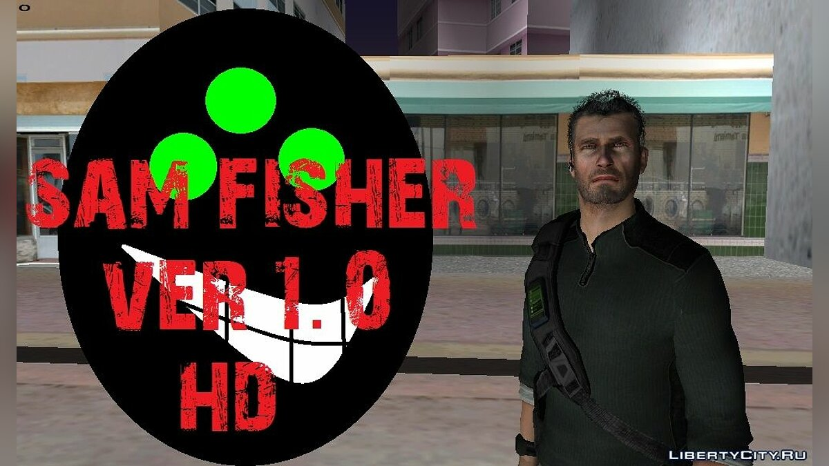 Sam Fisher - Splinter Cell для GTA Vice City